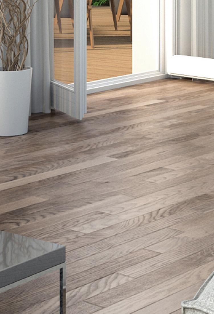 Fußboden in Holzoptik