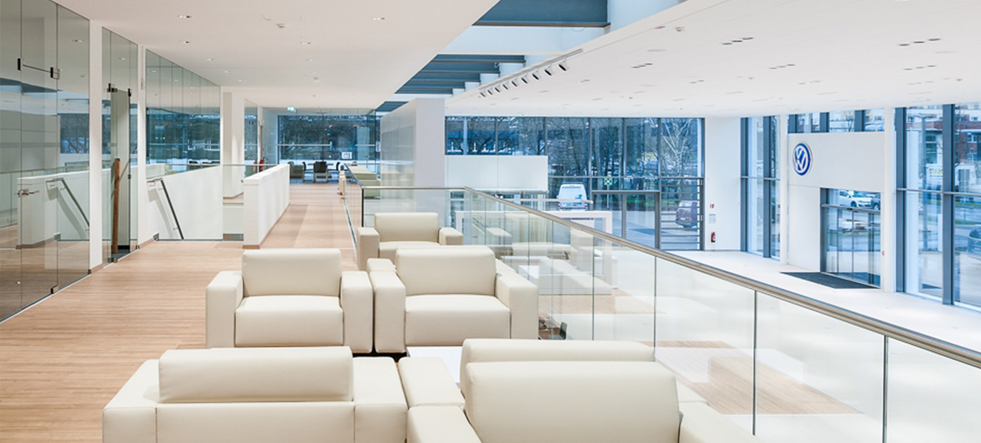Referenzgebäude von Volkswagen Immobilien