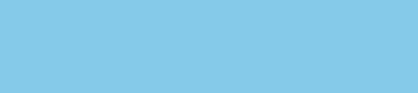 Blaue Fläche
