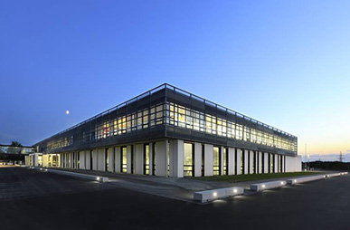 Referenz Gebäude Information und Logistik Center