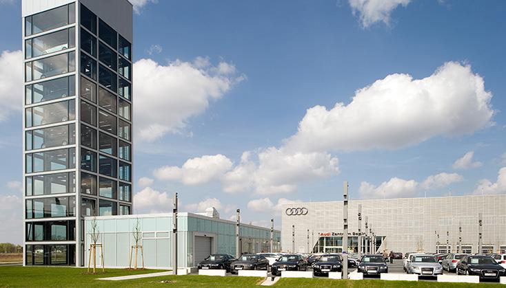 Referenz Gebäude Audi Berlin