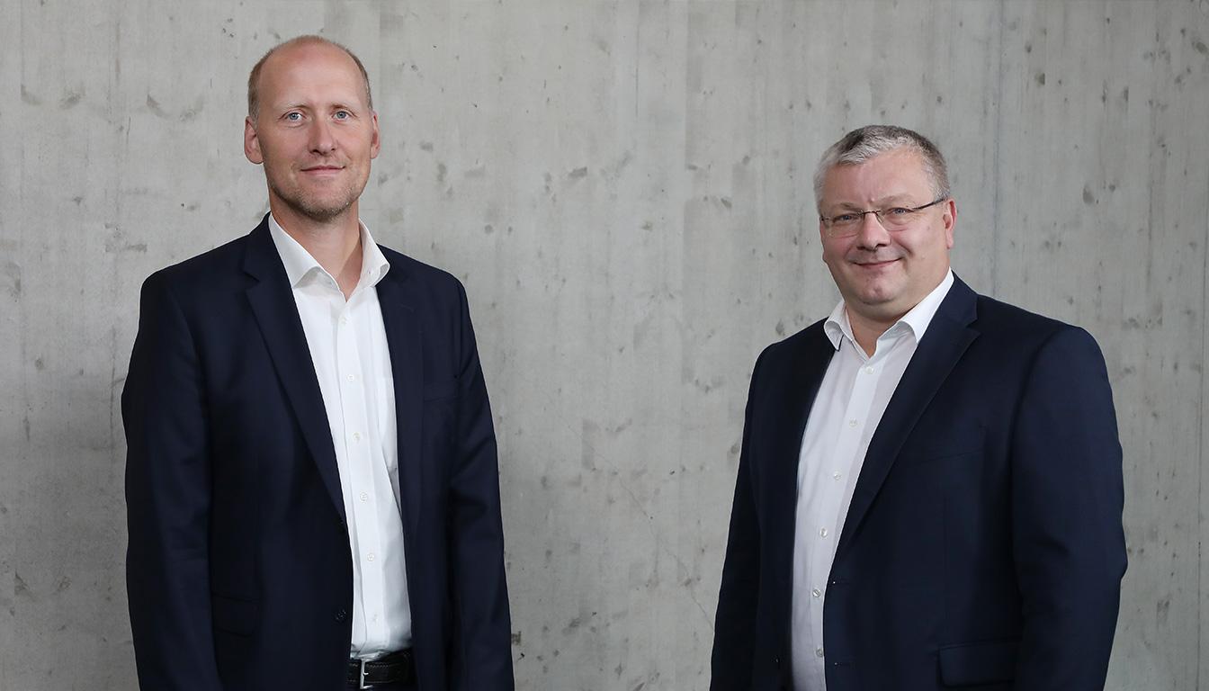 VWI-Geschäftsführer Hardy Brennecke und Meno Requardt.