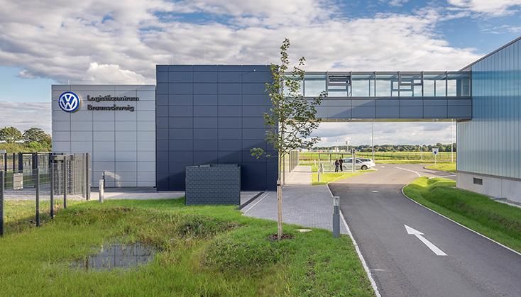 Referenz Gebäude Logistikzentrum Braunschweig