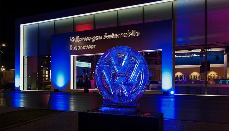 Referenz Gebäude Volkswagen Automobile Hannover.