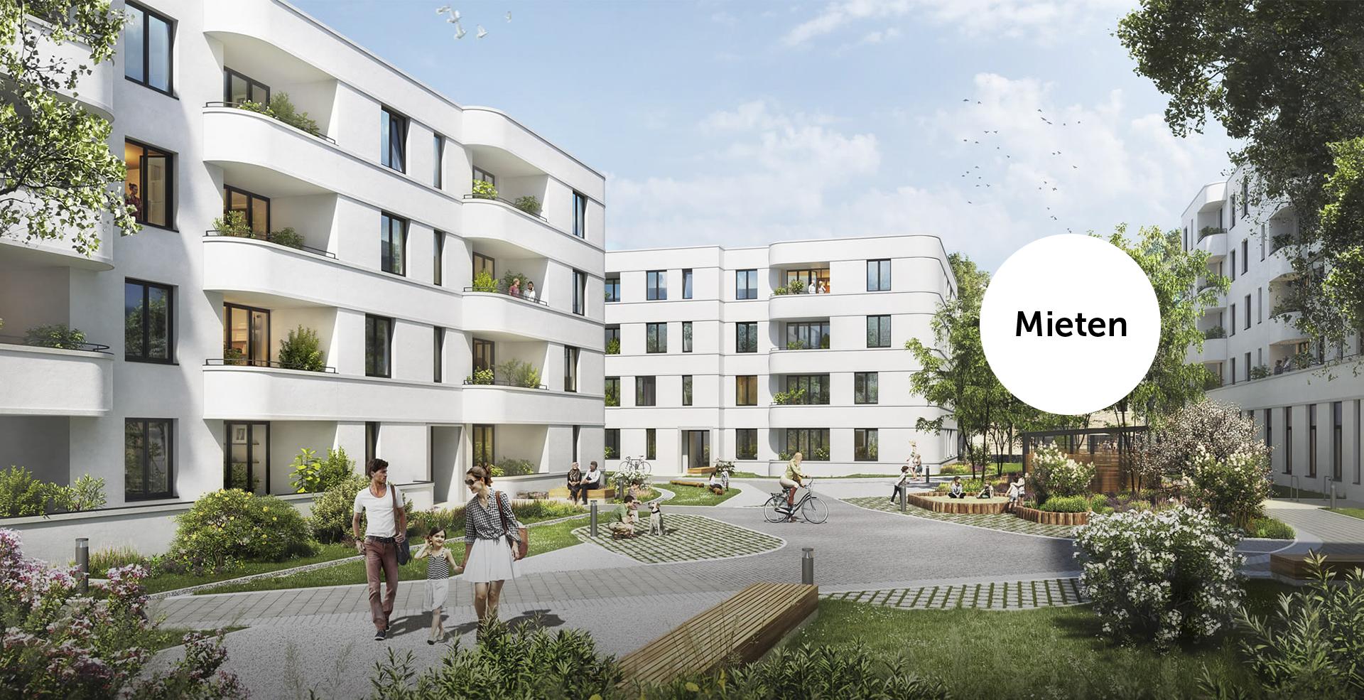 Gebäudegruppe Lindenhöfe.