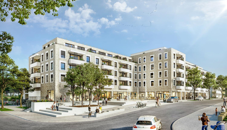PromenadenCarré und Quartiersplatz