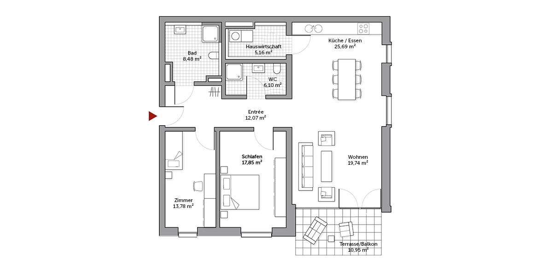Apura Living Grundriss 1