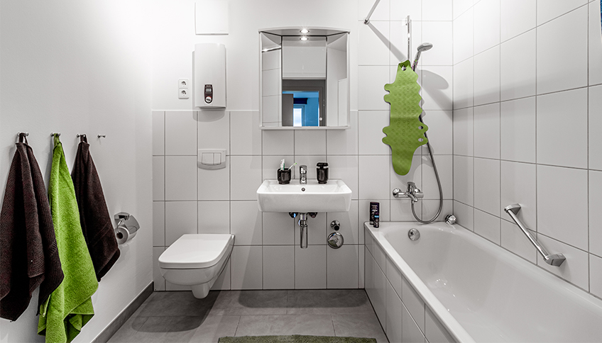 Badezimmer in WG