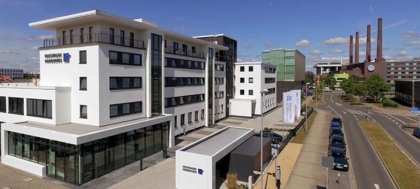 Hauptgebäude Volkswagen Immobilen