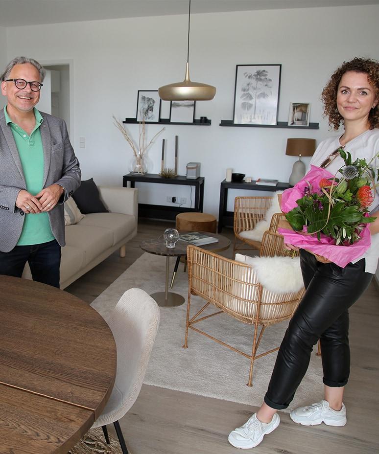 Zuhause auf probe Gewinnerin Katrin